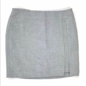 Lined Gray pencil skirt size 6